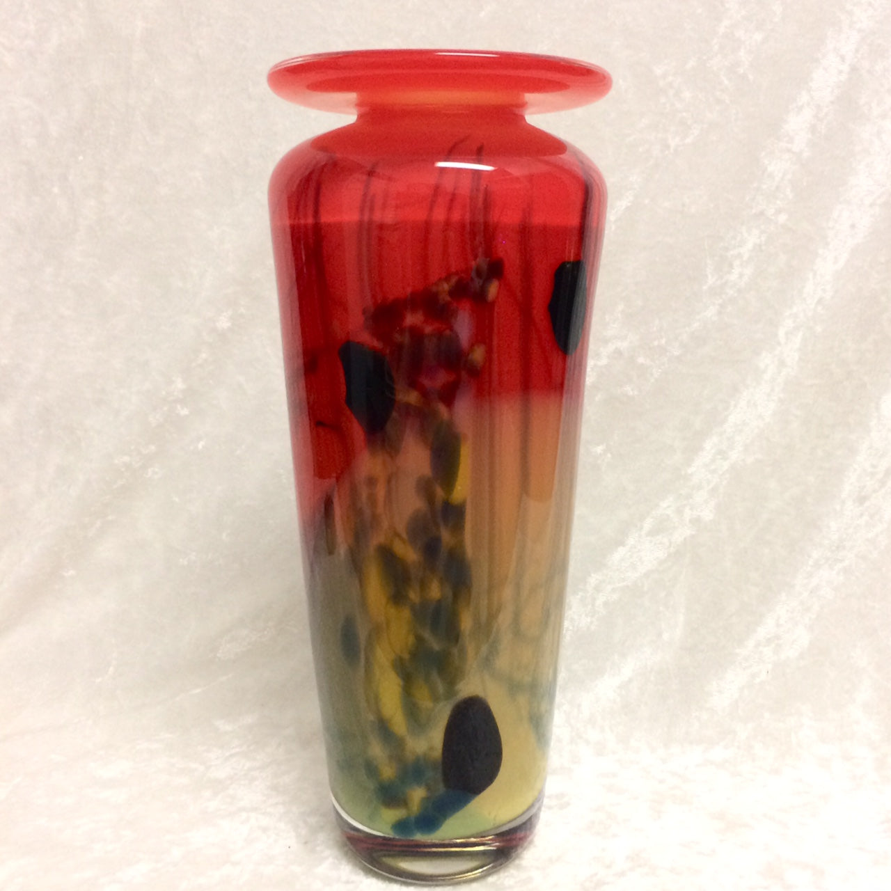Red Meiping Vase