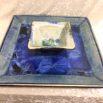 Two Piece Square Serving Tray with Bowl