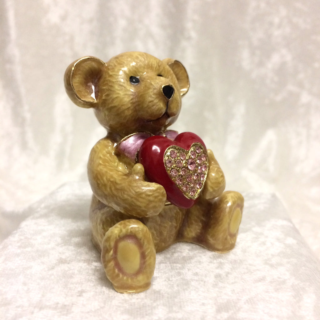 Teddy Bear Heart Box