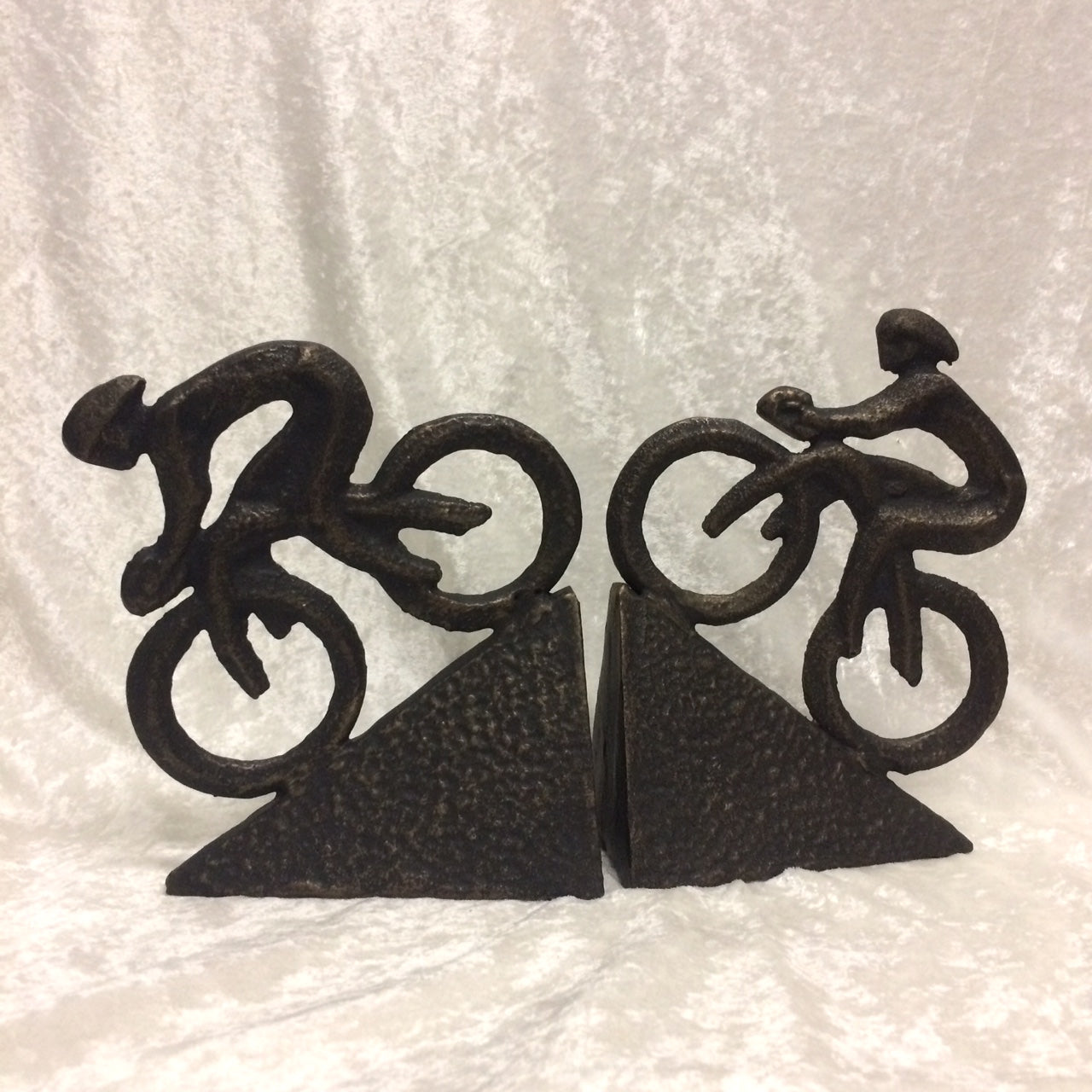 Bicycle Rider Bookends