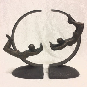 Acrobat Bookends