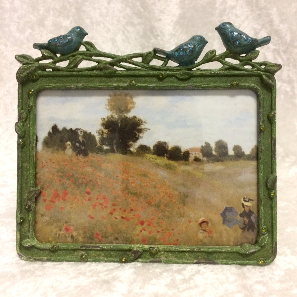 Bird Trio Photo Frame