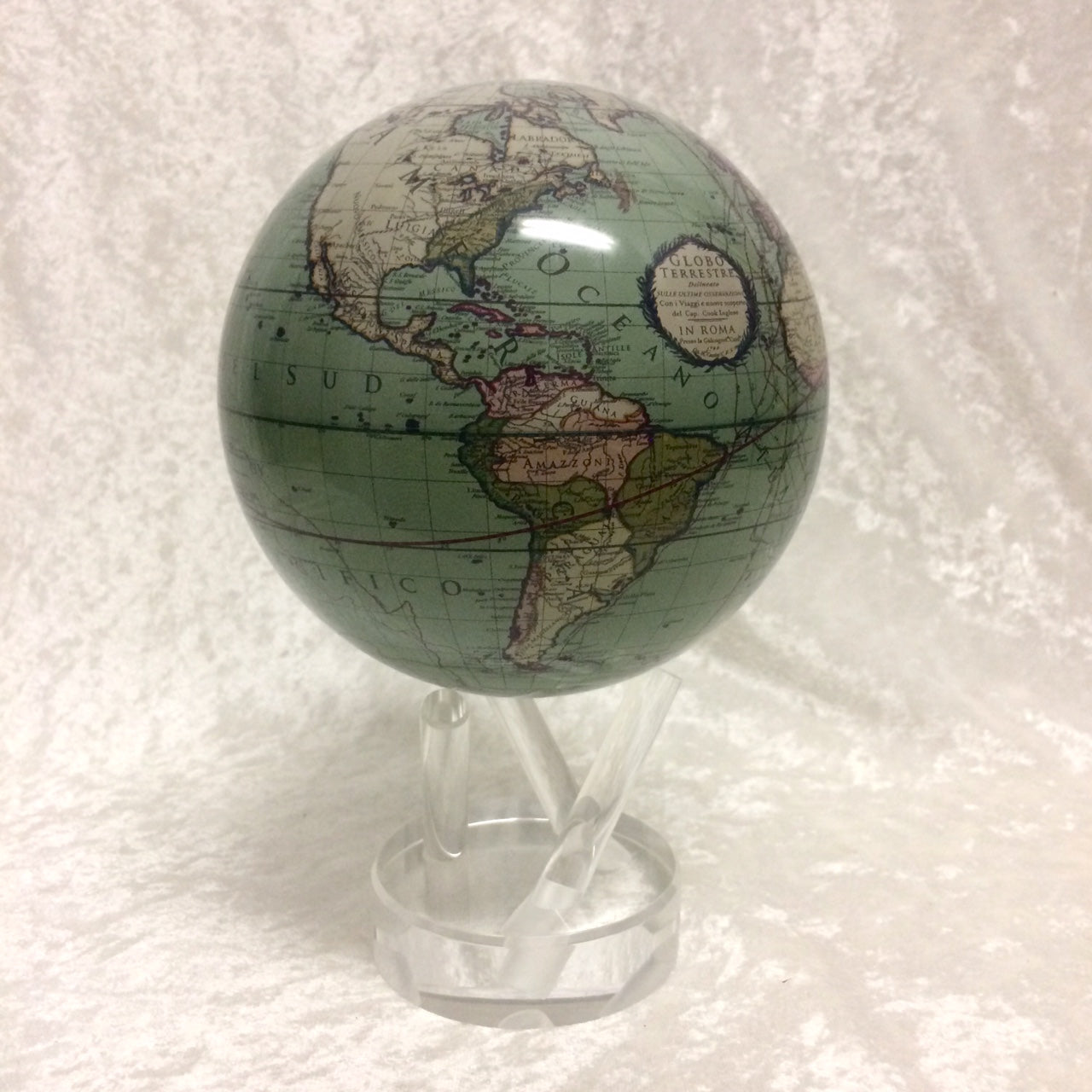 MOVA Globe Antique Green Terrestrial