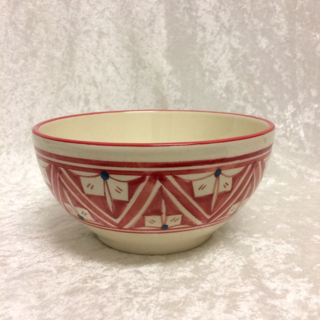 Tunisian Ceramic Cereal Bowl