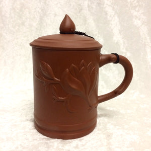 Yixing Clay Lotus Mug