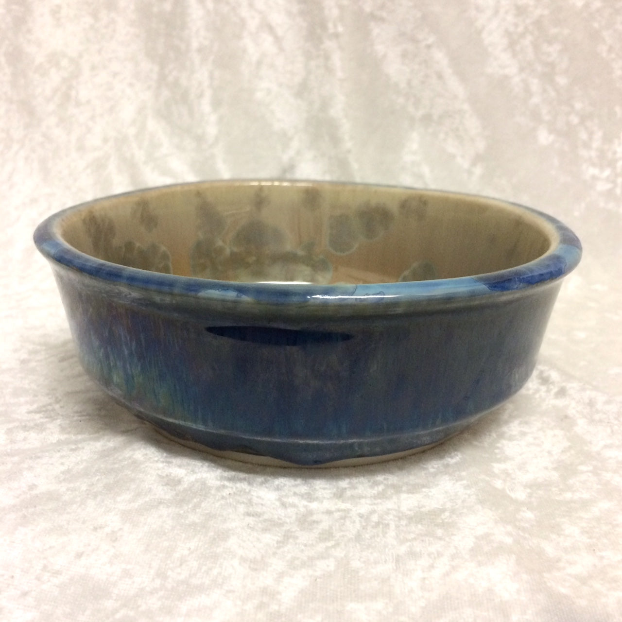 Bill Campbell Crystalline Friendship Bowl
