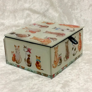 Cats with Bows Box