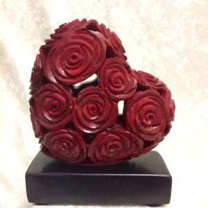 Stone Rose Heart