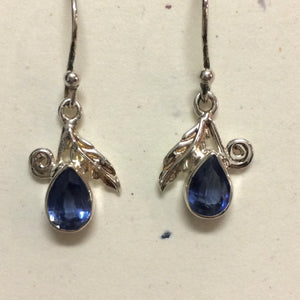 Kyanite Raindrop Earrings