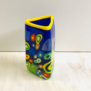 Colorful Triangle Vase