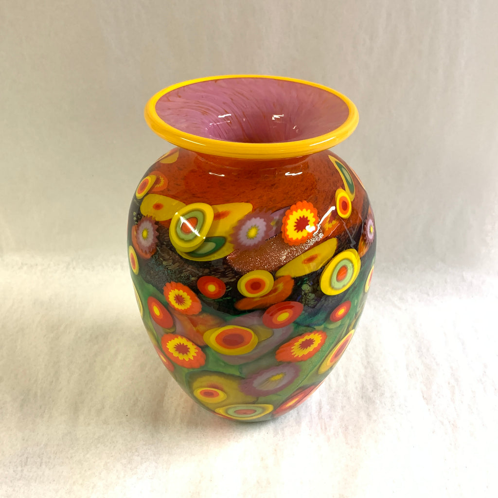 Citrus Color Vase