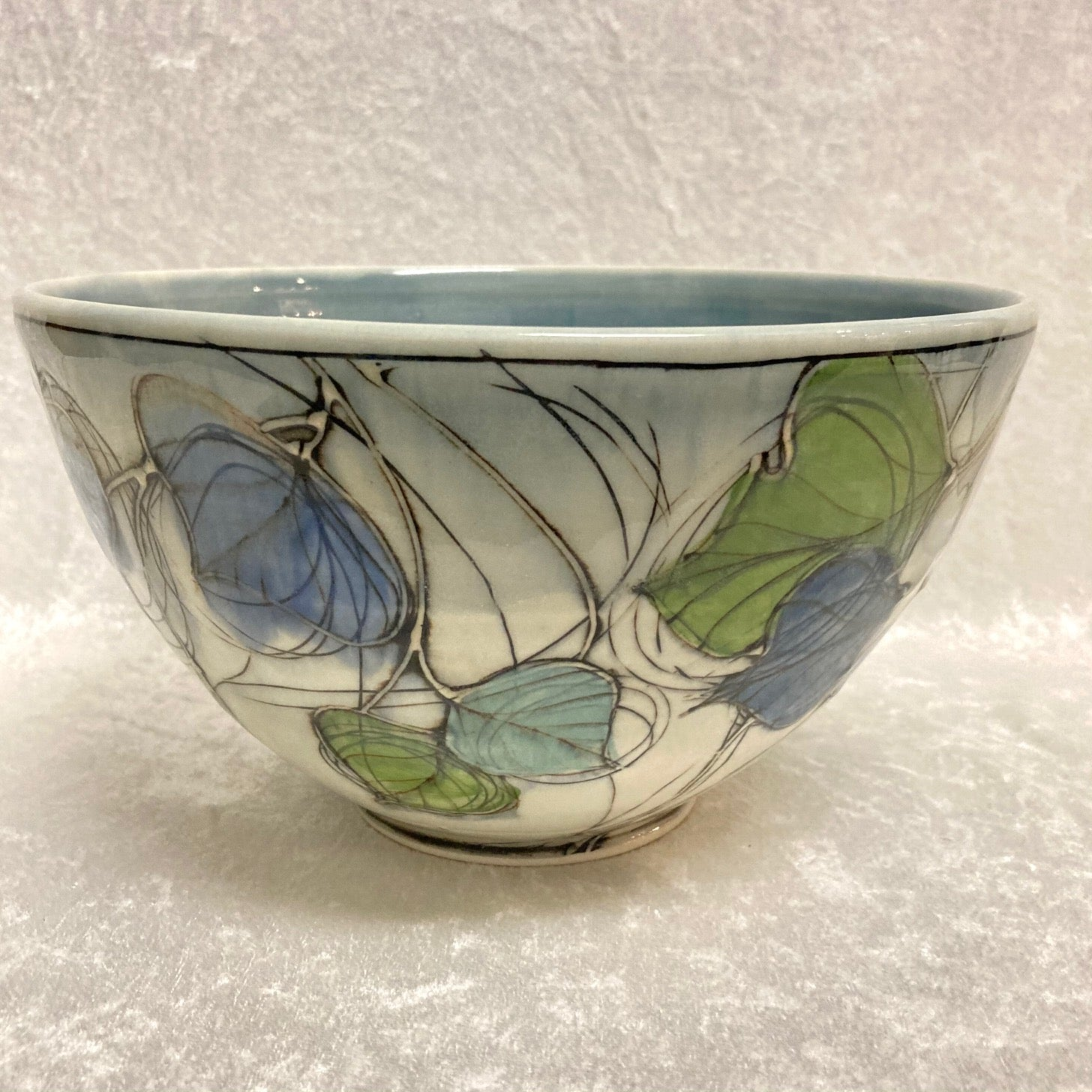 Tall Entwined Leaves Bowl