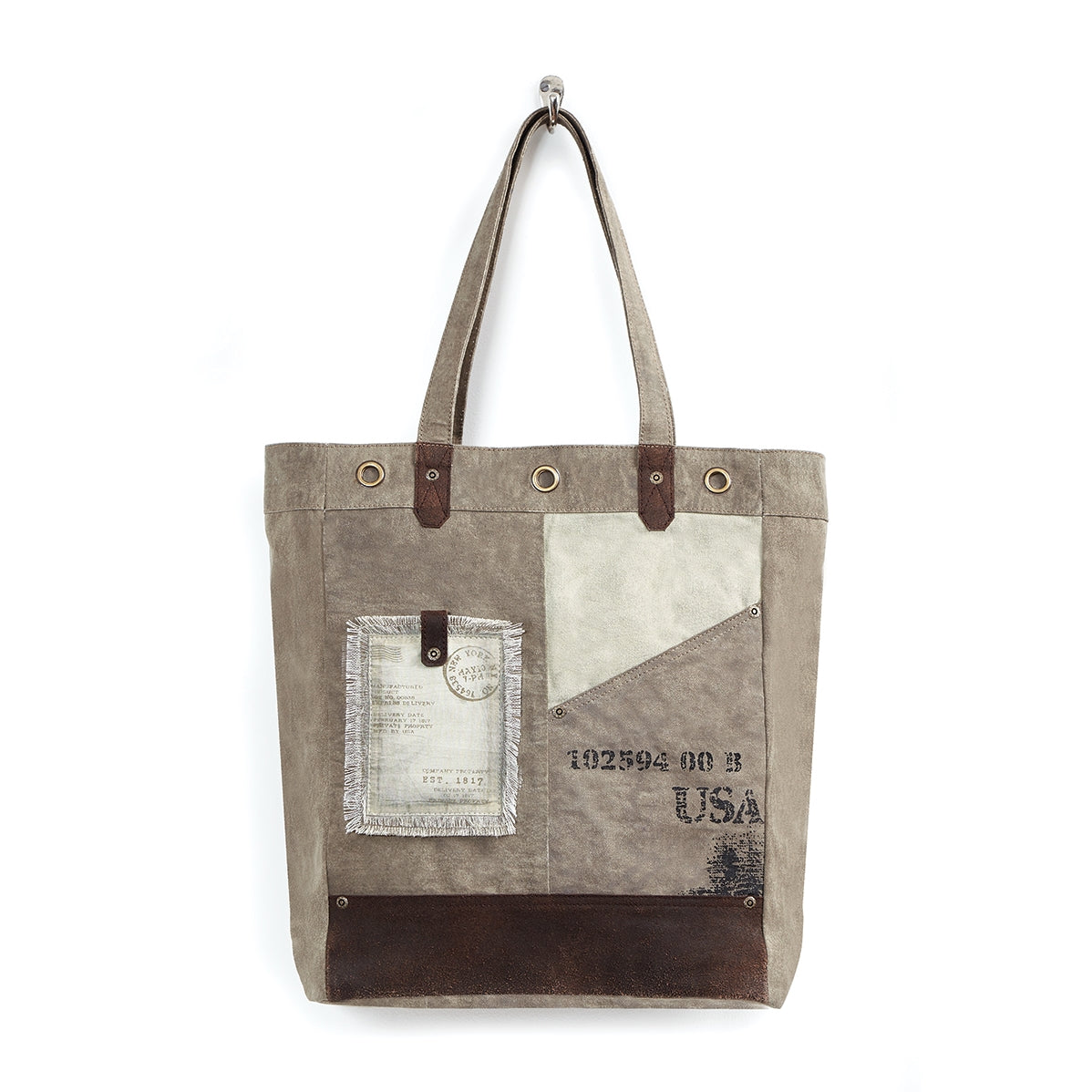 Tahoe Up-Cycled Canvas Tote