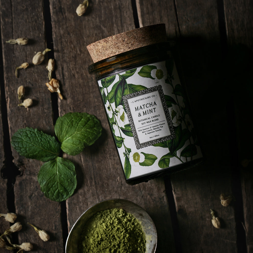 L'Apothicaire Co.  Botanical | Matcha + Mint
