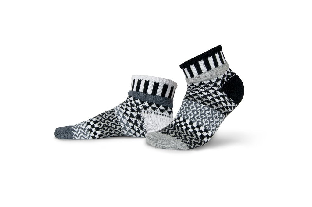 Solmate Socks Adult Quarter Midnight