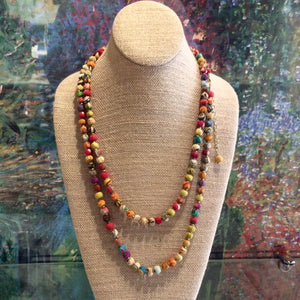 Sari Bead Necklace