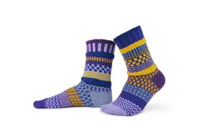 Solmate Socks Purple Rain