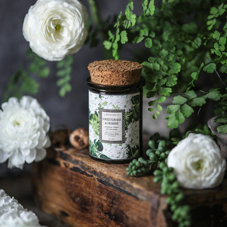 L'Apothicaire Co.  Botanical | Sweet Grass & Jasmine
