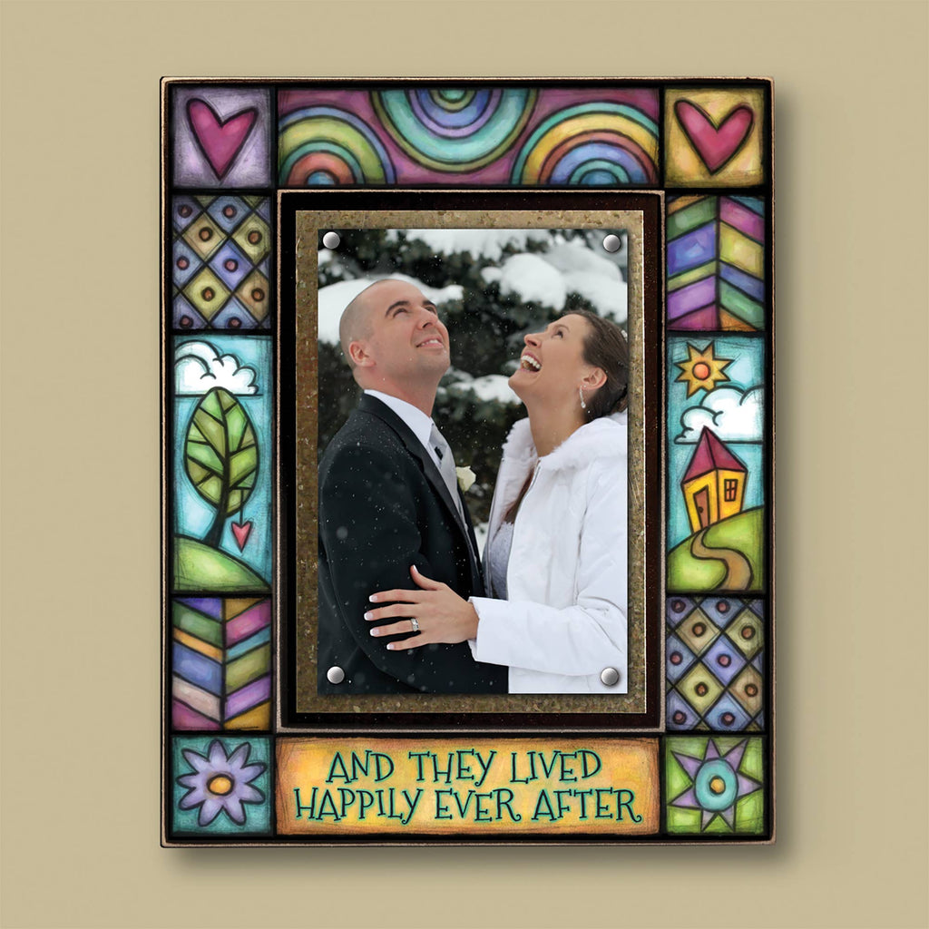 """And they lived happily ever after"" Photo Frame"