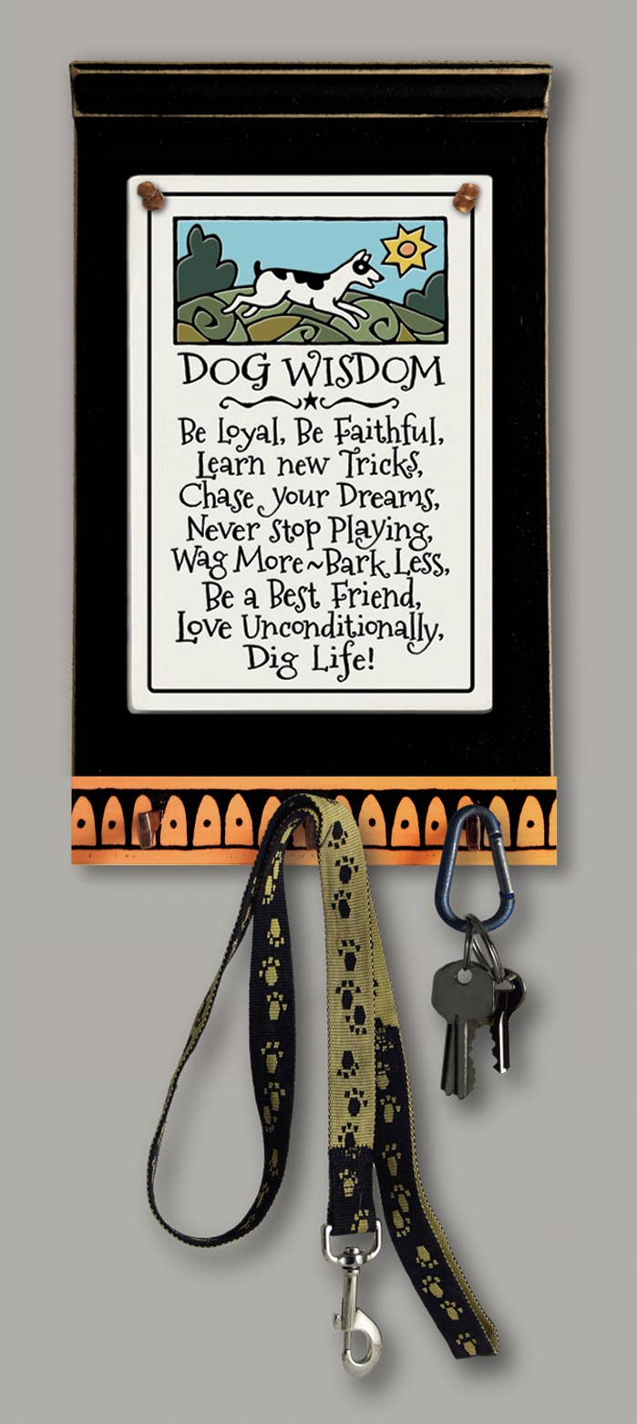 Dog Wisdom Key Holder