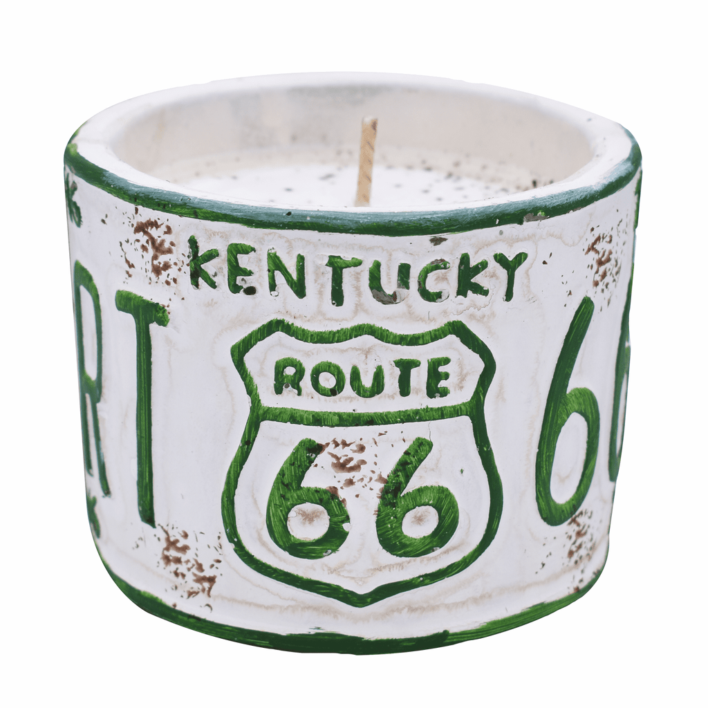 Kentucky License Plate Candle - Rosted Espresso