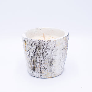 Round Rustic Woods Candle - Sweet Tea