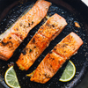 Atlantic Salmon - This selection contains 8 individually vacuum sealed Premium Quality Salmon Filets 6 oz each.