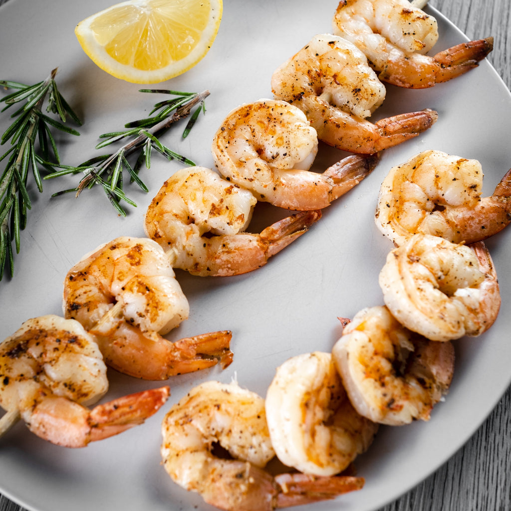 Vannamei White Shrimp - This selection contains 2lbs. bagged premium quality Vannamei White Shrimp
