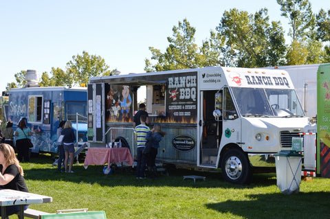YYC food trucks at circle the wagons with market collective