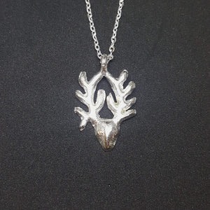 Antelope Pendant Necklace | Recycled Silver | Small Necklaces Alora Boutique