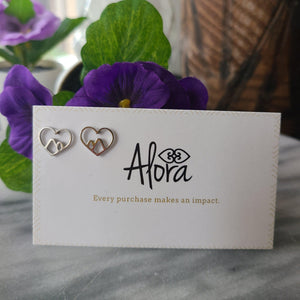 The Mountains Are Where the Heart Is | Mountain Earrings Earrings Alora