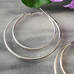 Jordyn Double Hoop Earrings Jewelry & Accessories - Earrings - Hoop Earrings Alora Boutique