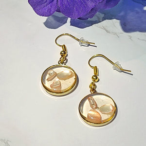 Patricia Dangle Resin Earrings