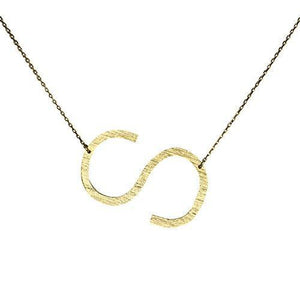 Monogram Collection Initial Necklace Jewelry & Accessories - Necklaces & Pendants Alora Boutique S