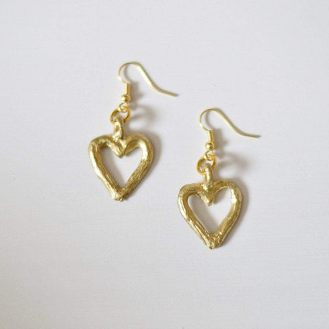 "Akoma ""the heart"" {patience & tolerance} Earrings - Alora Boutique  - 1"