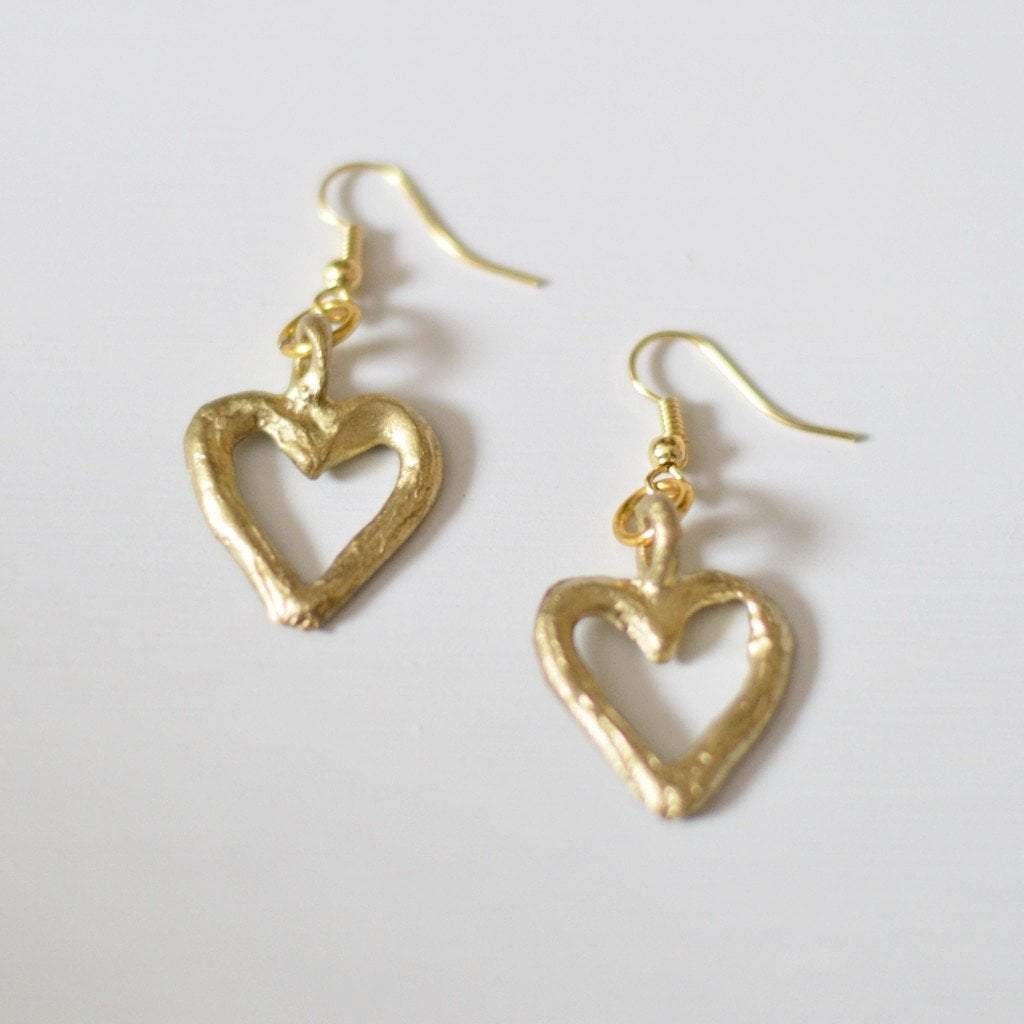 "Akoma ""the heart"" {patience & tolerance} Earrings - Alora Boutique  - 2"
