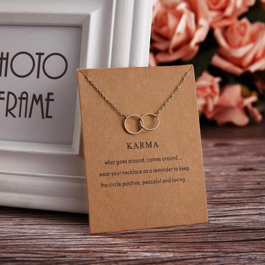 Meaningful Jewelry Gifts - Necklaces with Meaning Cards (Multiple Variants) Necklaces Alora Boutique