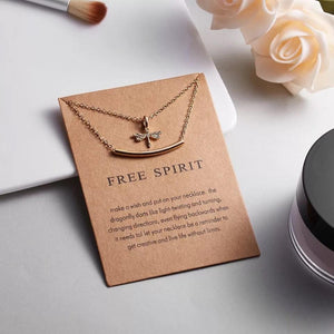 Meaningful Jewelry Gifts - Necklaces with Meaning Cards (Multiple Variants) - Alora Boutique