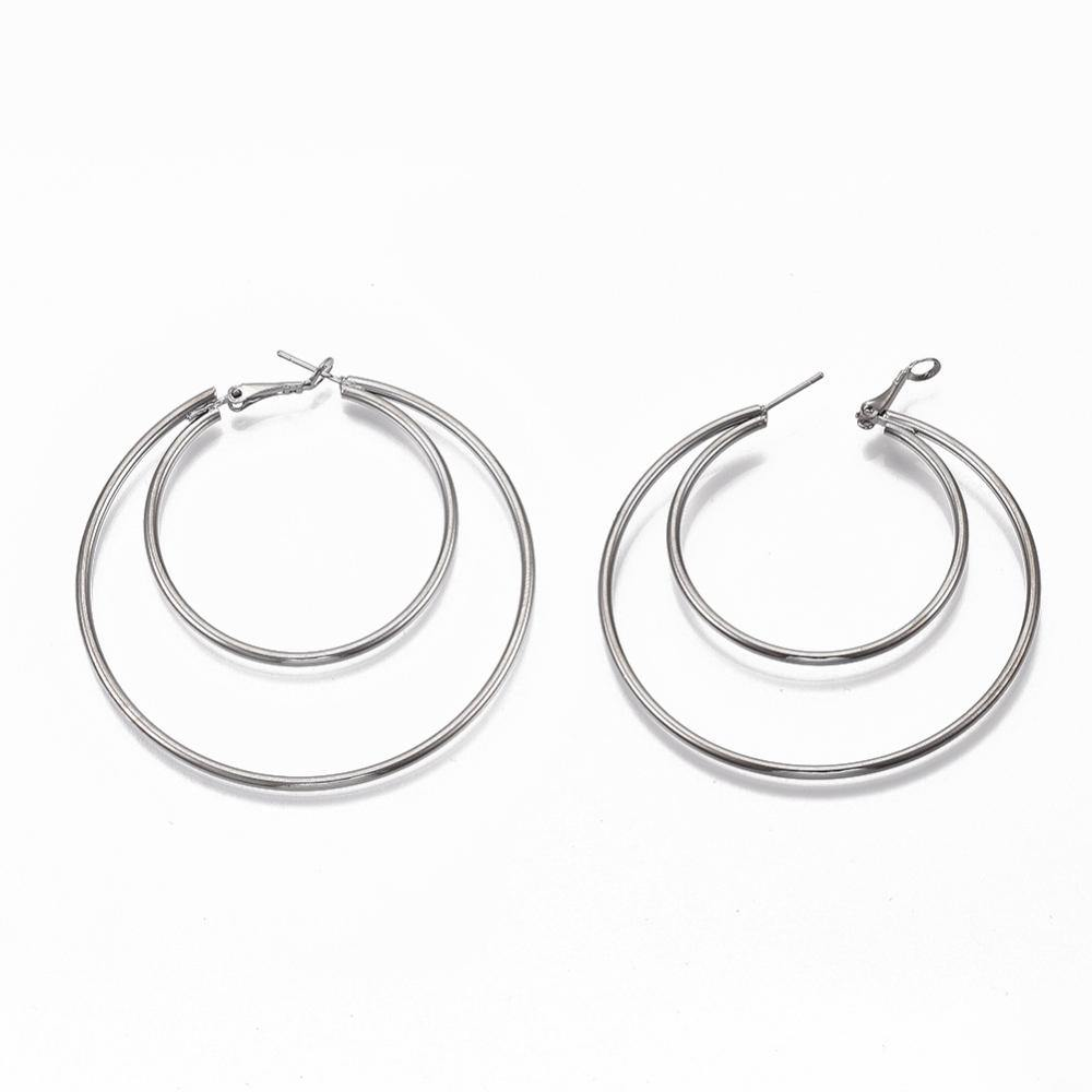 Jordyn Double Hoop Earrings - Alora Boutique