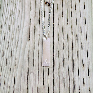 Affirmation Necklace - Brass or Sterling Silver Necklaces Alora Boutique