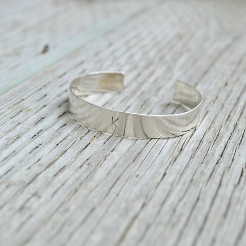 Affirmation Sterling Silver Bangle