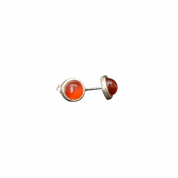 Appreciation, Empowerment, Understanding | Stud Earrings | Red Jasper Gemstone