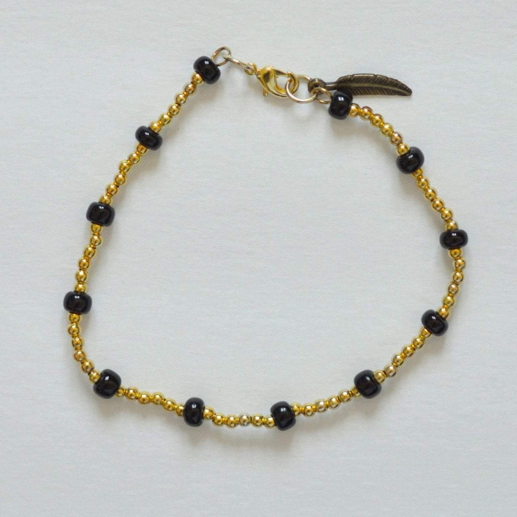 Your Shine is One Of a Kind - Beaded Anklet - Alora Boutique  - 1