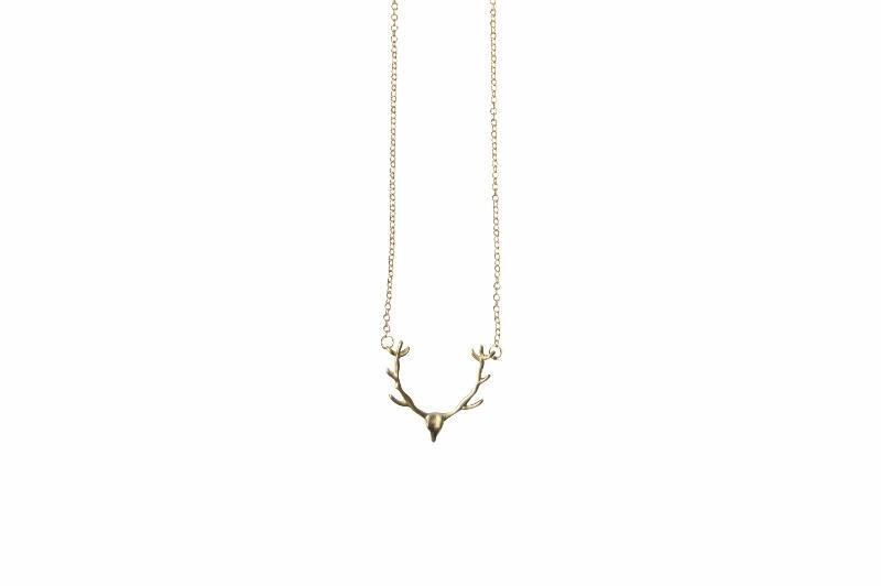 Antelpoe/Deer Necklace - Delicate - Alora Boutique - Jewelry with meaning that gives back fashion for good