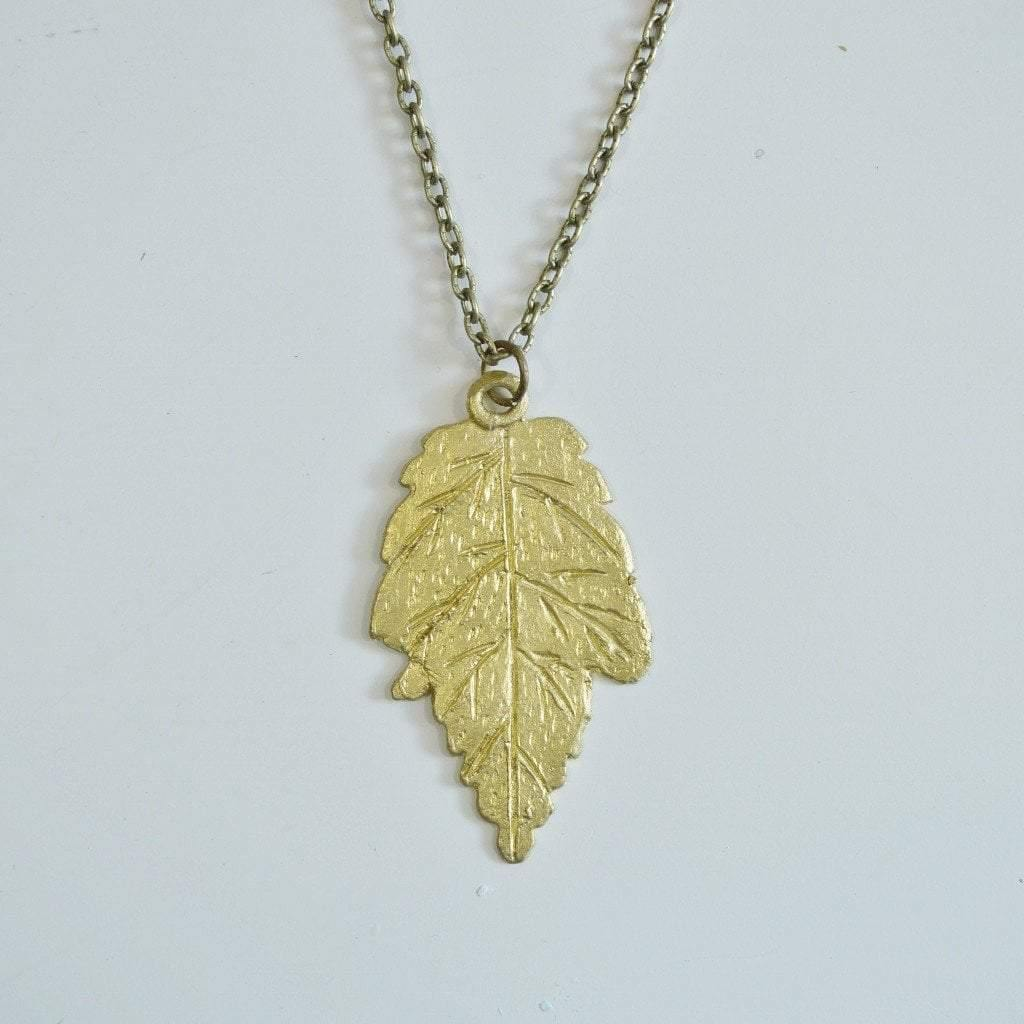 leaf maple pendant jewelry gold main necklace nkc product shop amrita singh clear