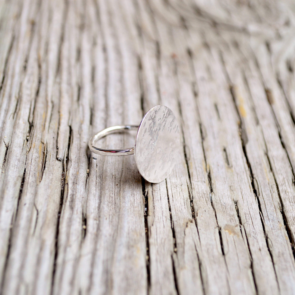 The Journey | Circle Ring | Sterling Silver