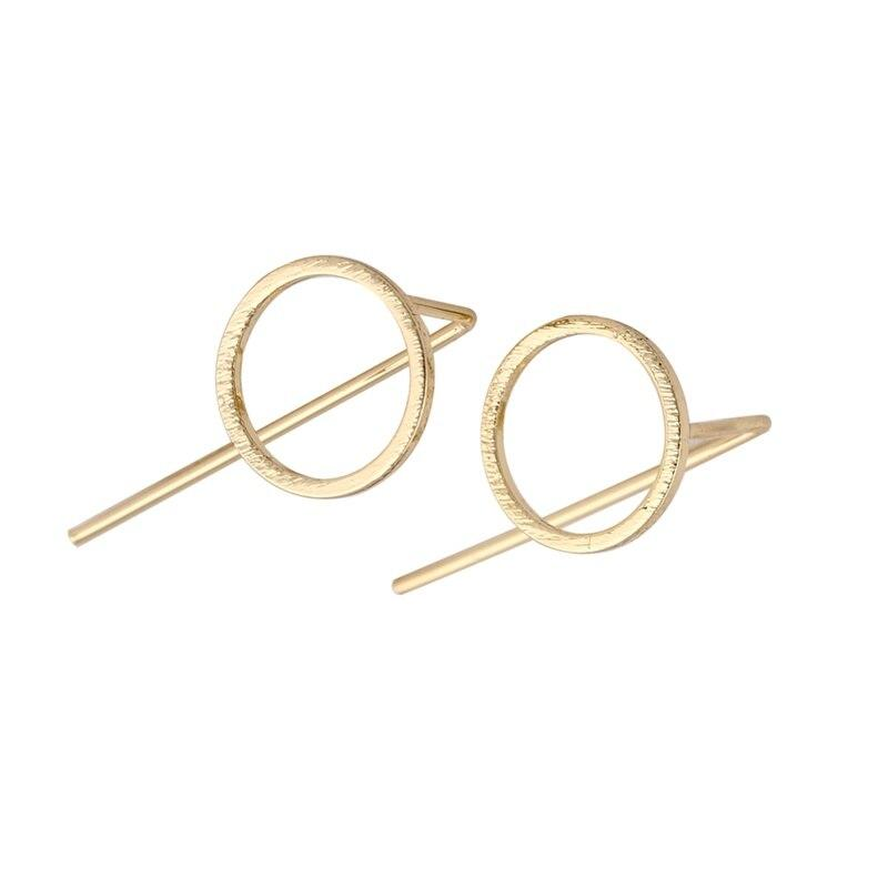 Circle Crawler Stud Earrings - Alora Boutique