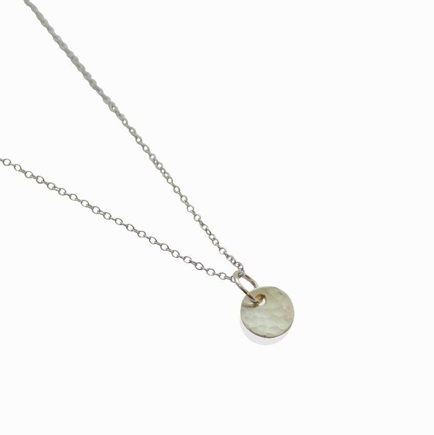 Empower Delicate Necklace | Circle | Sterling Silver or Brass
