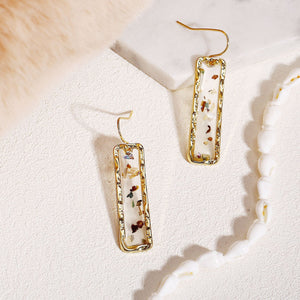 'Keisha' Dangle Resin Earrings