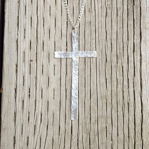 The Journey- Ruth | Classic Cross Necklace | Sterling Silver or Brass